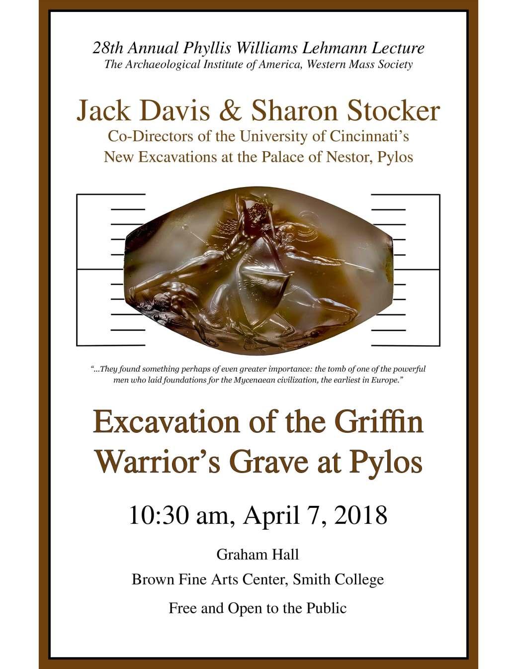 Davis-Stocker Poster 4-18